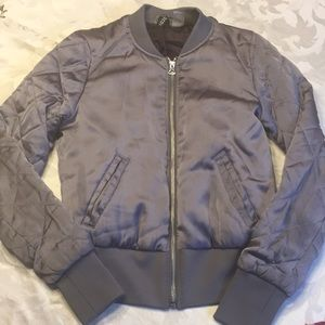 H&M quilted sleeve jacket